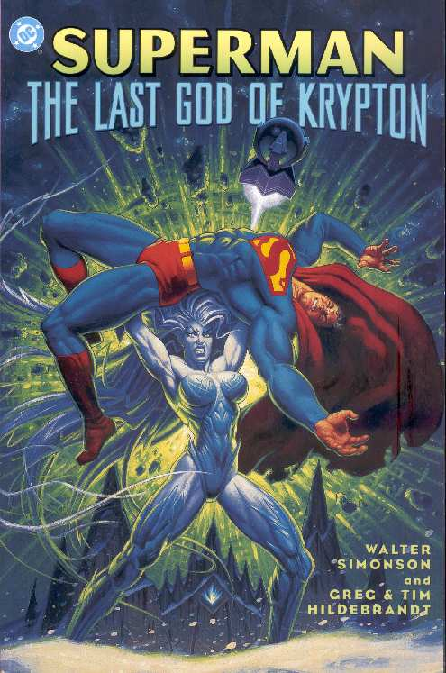 THE LAST GOD OF KRYPTON