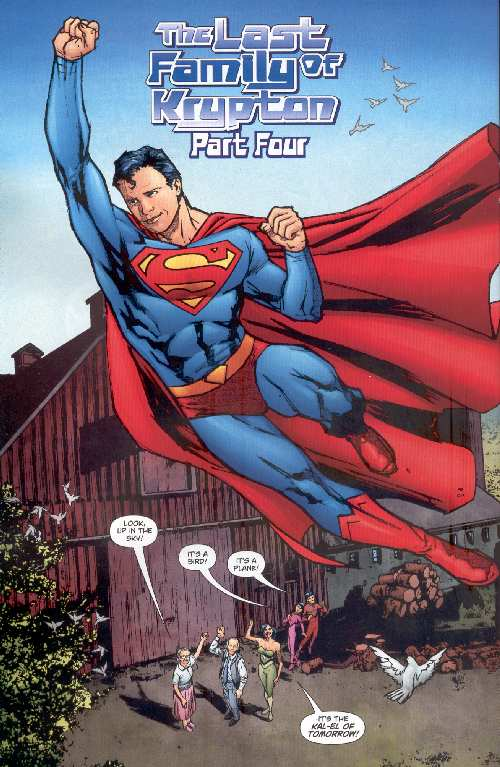 SUPERMAN THE LAST FAMILY OF KRYPTON #2