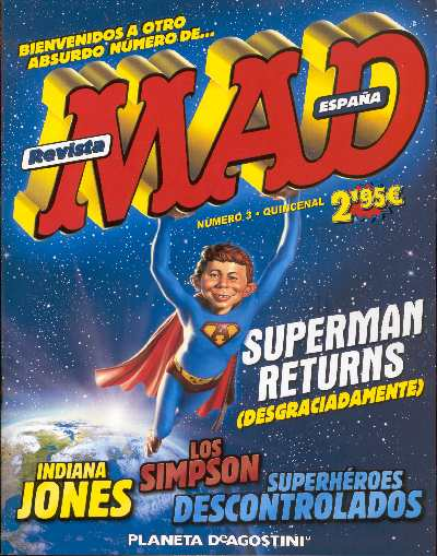 SUPERMAN RETURNS EN MAD