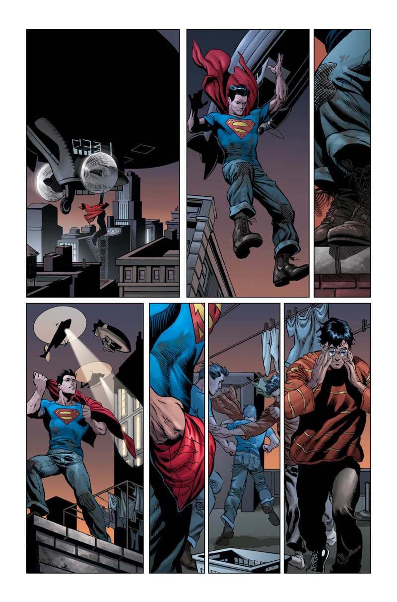 SUPERMAN EN ACTION COMICS