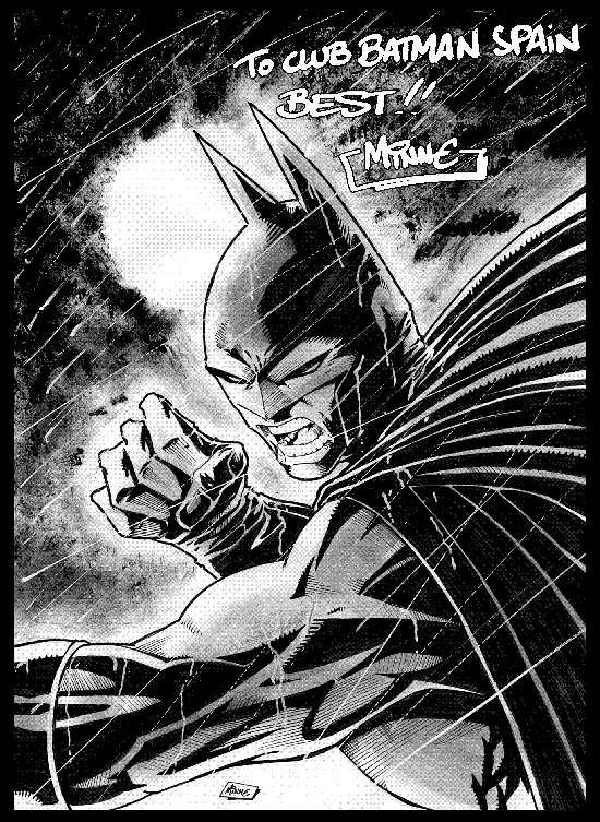 BATMAN BY PIERRE MINNE
