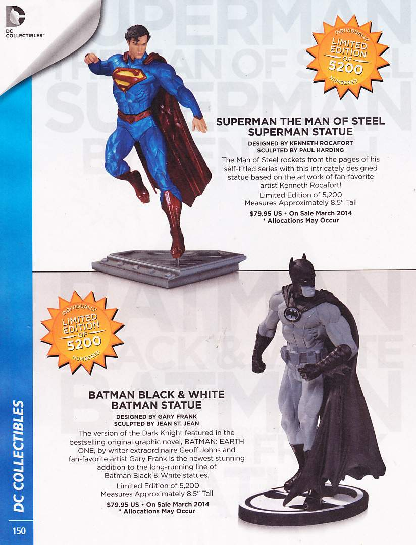 SUPERMAN PREVIEWS OCTUBRE 2013