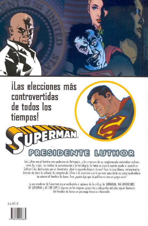 SUPERMAN PRESIDENTE LUTHOR