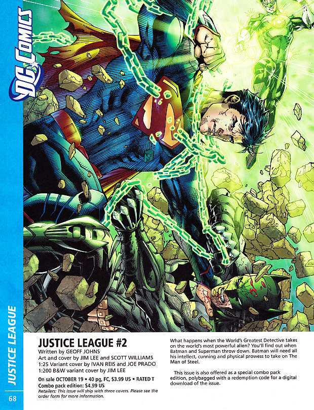 JUSTICE LEAGUE #2 COVER ART