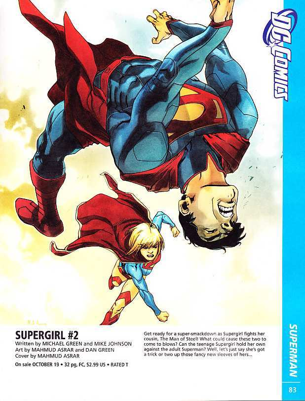 SUPERGIRL #2 COVER ART