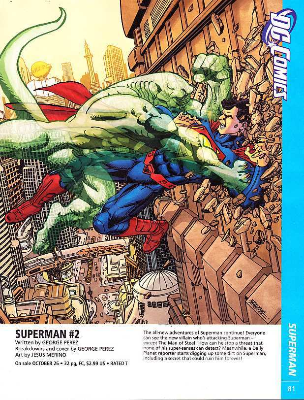 SUPERMAN #2 COVER ART