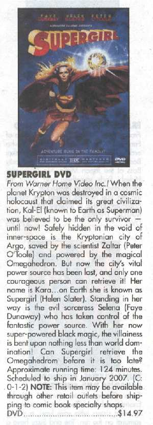 SUPERMAN DVDs