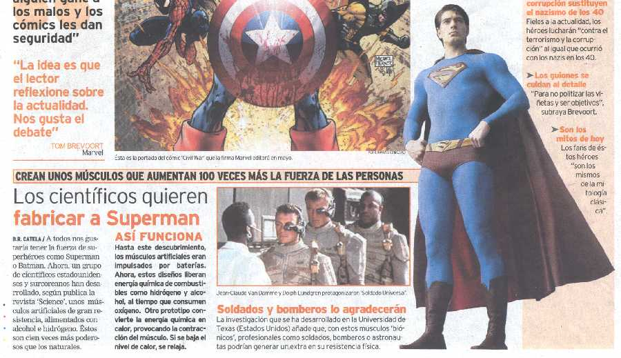 SUPERMAN RETURNS EN QUE!