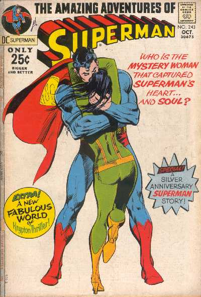SUPERMAN 243 OCTOBER 1971