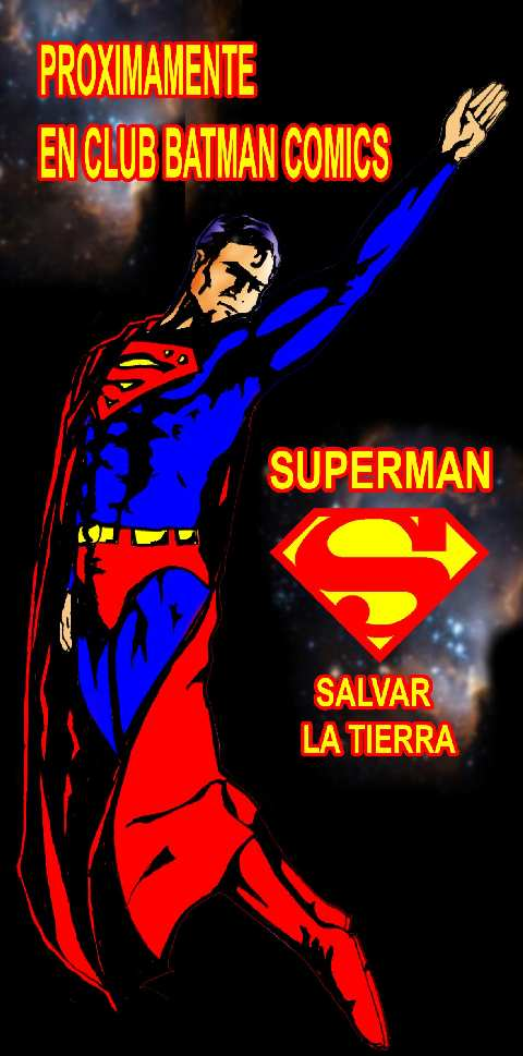SUPERMAN SALVAR LA TIERRA PROMO