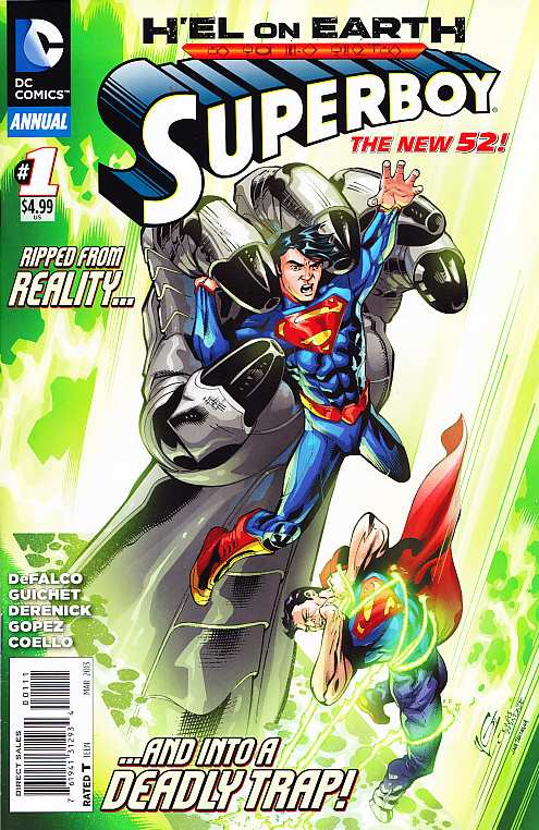 SUPERBOY ANNUAL #1 NEW 52