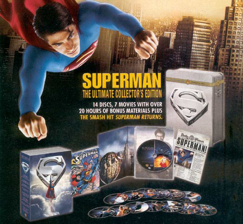 SUPERMAN MERCHANDISING