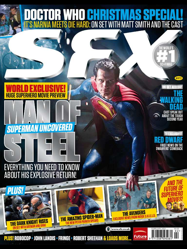 MAN OF STEEL IN SFX