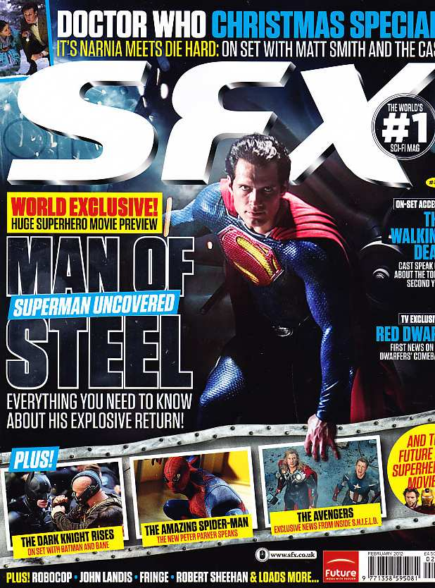 MAN OF STEEL IN SFX 212