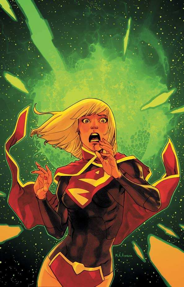 SUPERGIRL #3 ART