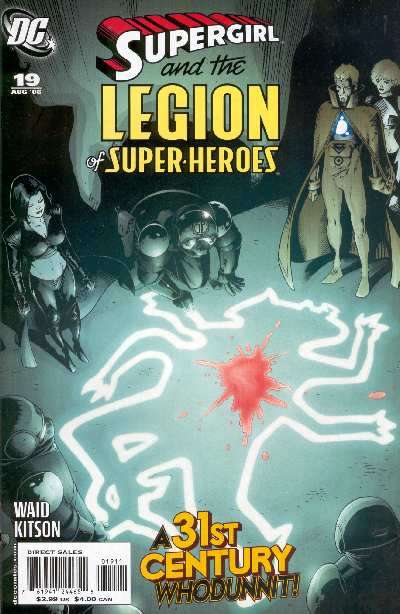 SUPERGIRL AND THE LEGION 19