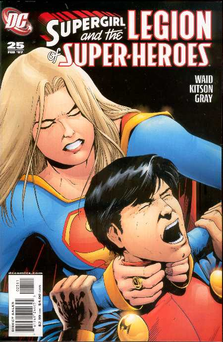 SUPERGIRL AND THE LEGION #25