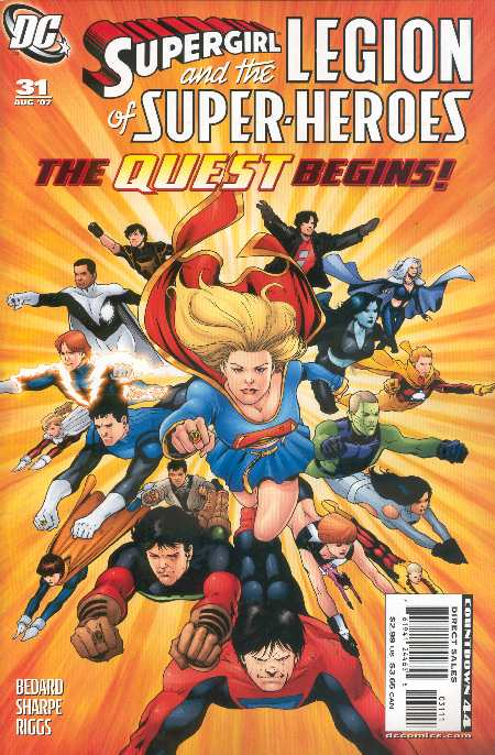 SUPERGIRL AND THE LEGION 31