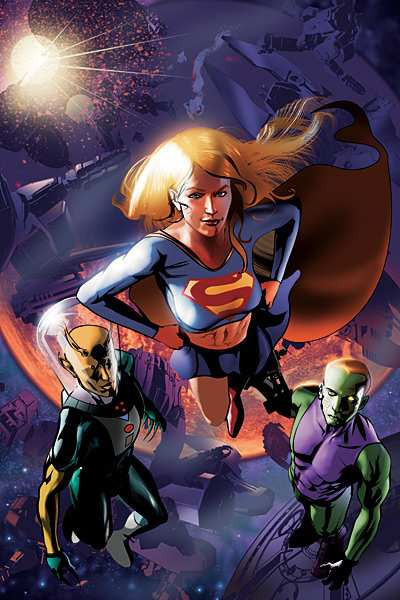 SUPERGIRL AND THE LEGION 32