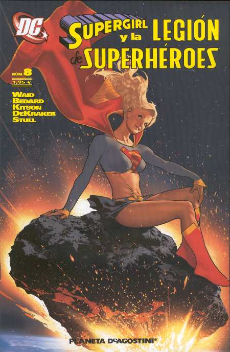 SUPERGIRL Y LA LEGION #8