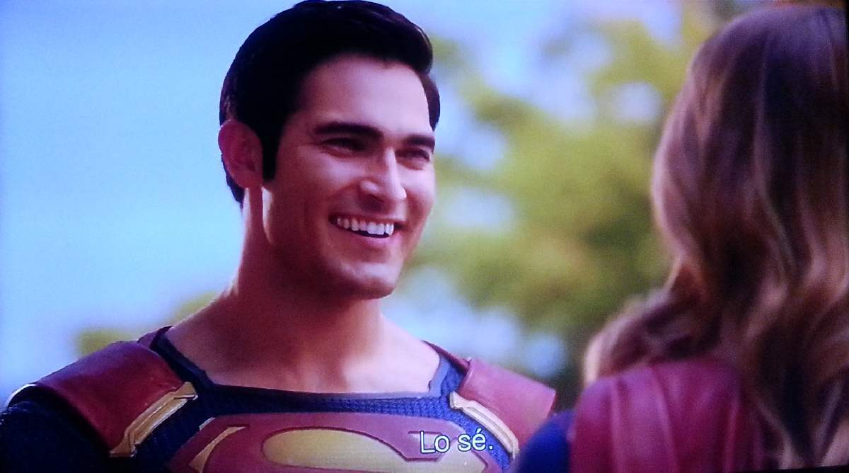 SUPERMAN IN SUPERGIRL