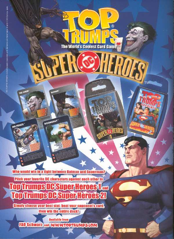 TOP TRUMPS DC SUPER HEROES