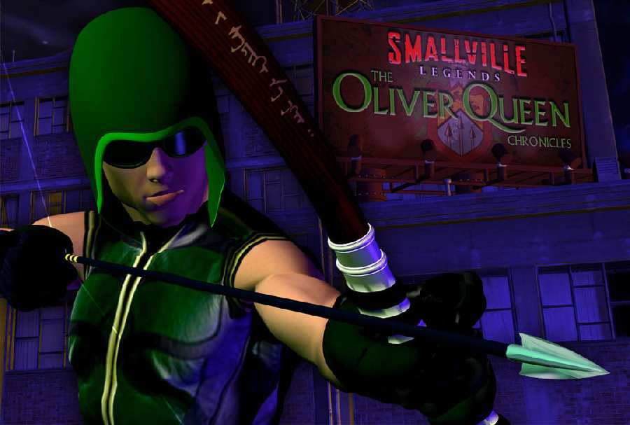 SMALLVILLE THE OLIVER QUEEN CHONICLES