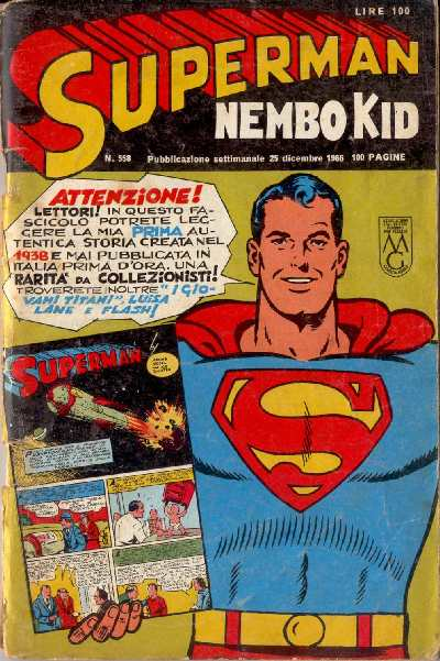 SUPERMAN NEMBO KID 558
