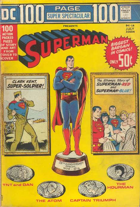 SUPERMAN DC 100 PAGE DC-18
