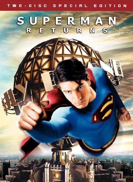 SUPERMAN RETURNS 1 DVD