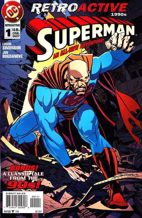 SUPERMAN RETROACTIVE 1990 #1