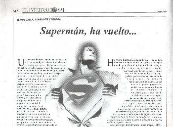 SUPERMAN HA VUELTO