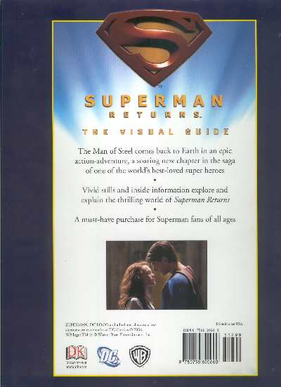 SUPERMAN RETURNS THE VISUAL GUIDE