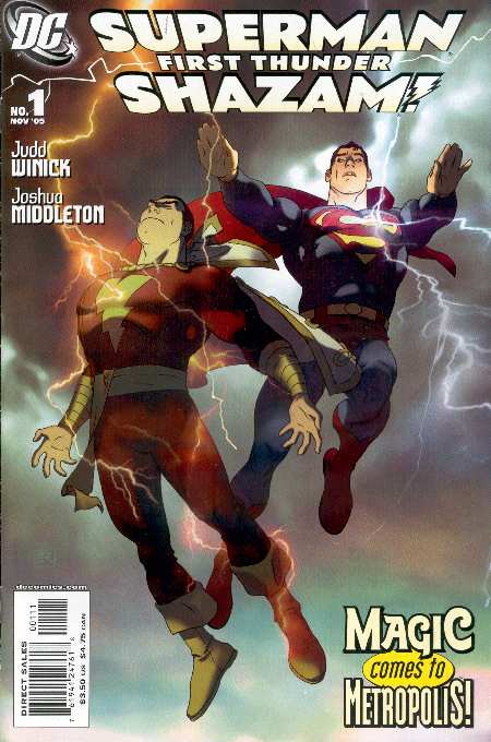 SUPERMAN SHAZAM FIRST THUNDER #1