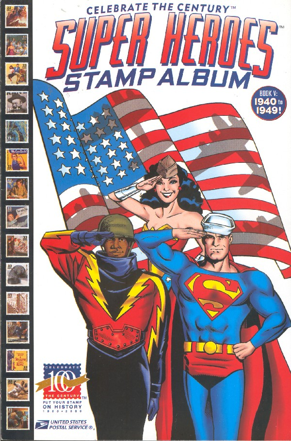 UNITED STATES POSTAL SERVICE AND DC COMICS