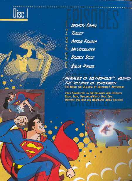 SUPERMAN THE ANIMATED SERIES VOLUME DOS