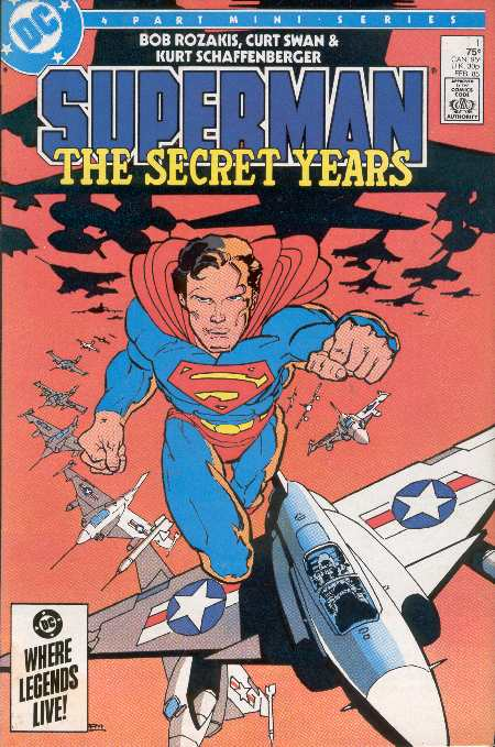 SUPERMAN THE SECRET YEARS 1