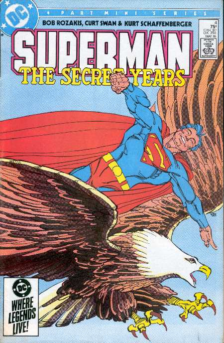 SUPERMAN THE SECRET YEARS 4