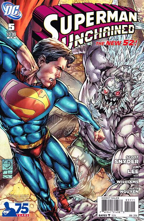 SUPERMAN UNCHAINED 5