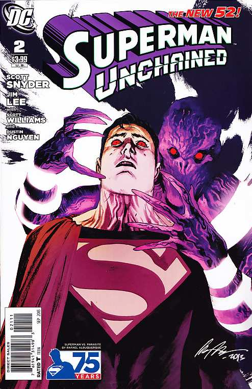 SUPERMAN UNCHAINED #52