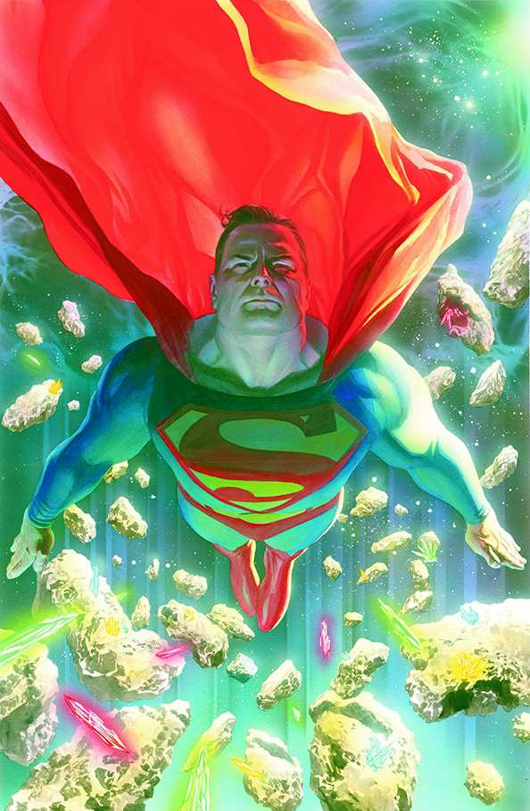 SUPERMAN #683 ART
