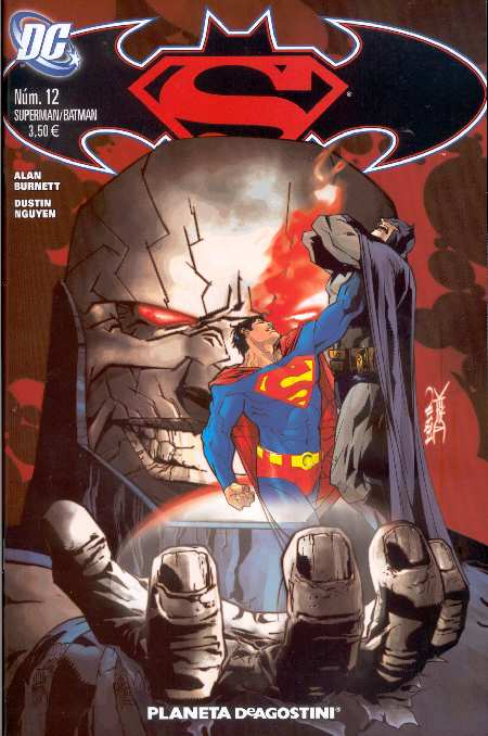 SUPERMAN BATMAN #12 PLANETA DEAGOSTINI