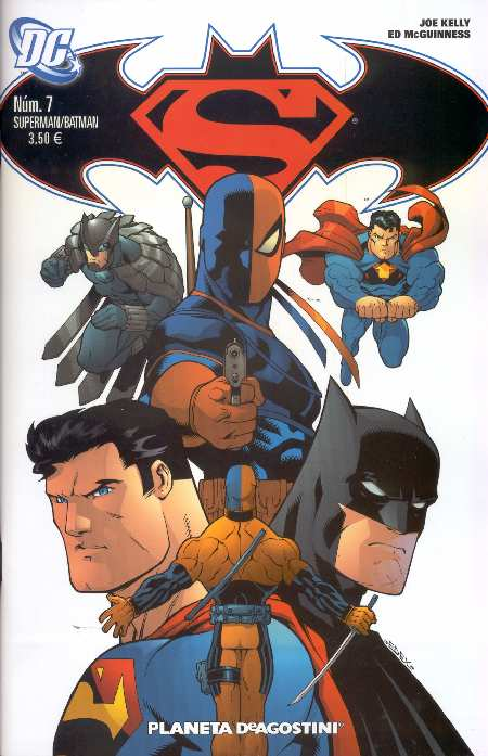 SUPERMAN-BATMAN#7 DE PLANETA DEAGOSTINI