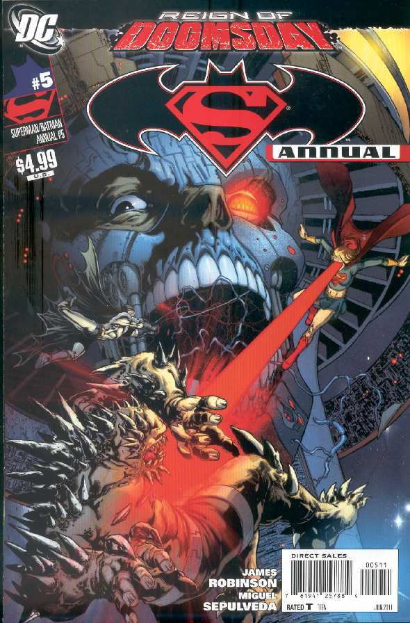 SUPERMAN BATMAN ANNUAL #5