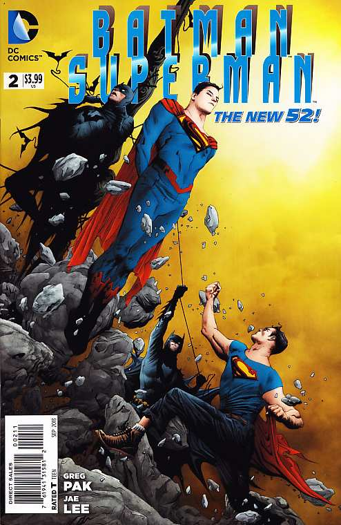 SUPERMAN BATMAN #2