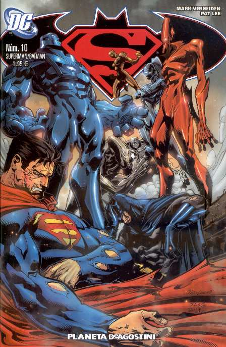 SUPERMAN BATMAN #10 PLANETA DEAGOSTINI