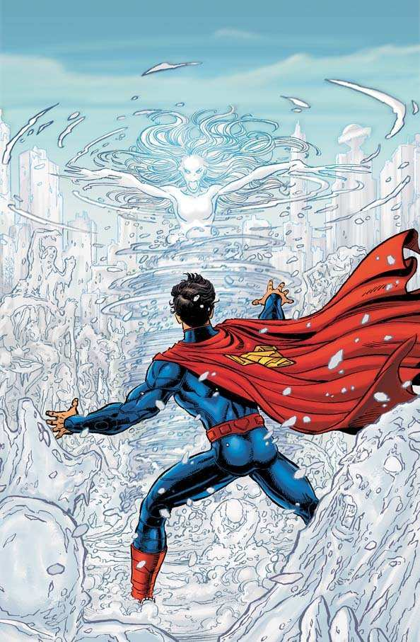 SUPERMAN #3 COVER ART