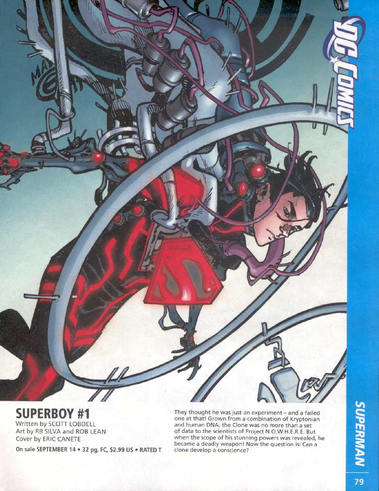 SUPERBOY #1 (PREVIEWS)