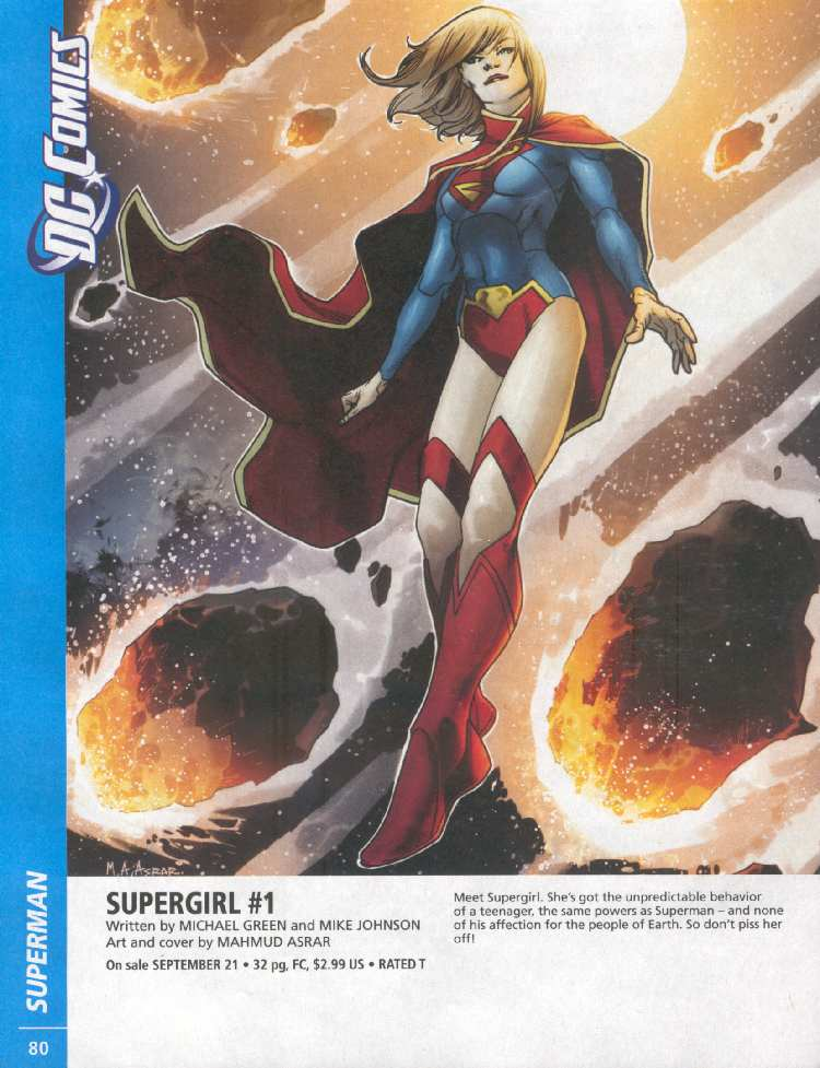 SUPERGIRL #1 (PREVIEWS)