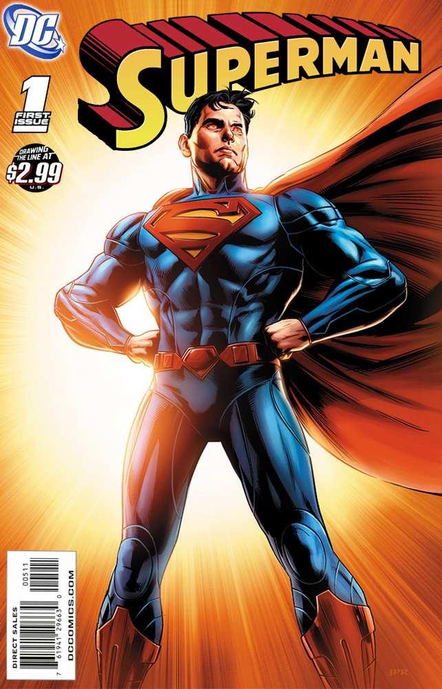 Superman Comic Book Cover Art : Superman the new